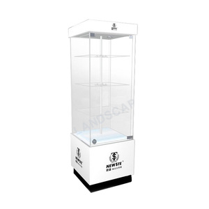 5a09bcd47 Attractive acrylic floor standing eyeglasses display cabinet for store