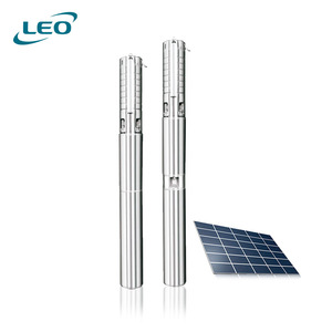 DC 48V Solar Deep Well Screw Submersible Water Pump 700W,Stainless Steel,3.5/'/'