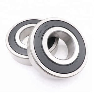 NSK 6306//6307//6308//6309//6310//6311//6312 DDU Rubber Seal Deep Groove Ball Bearings