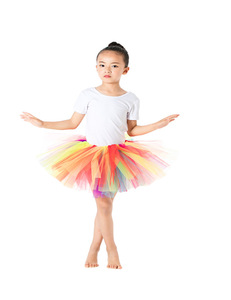 Girls 12 Inch Extra Large Elastic Crochet Unlined Tutu Dress Top Ballet Skirt