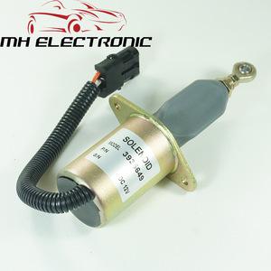 Diesel Fuel Shut Down Shutoff Stop Solenoid Valve 5295567 24V for Cummins Engine