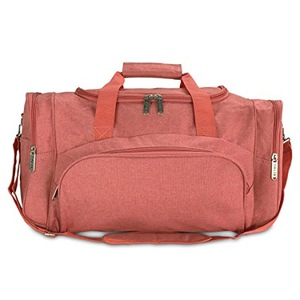 XIAMEND Fitness Bag Travel Bag Cylinder Sports Bag with Shoe Compartment for Men and Women Fitness Yoga Color : Black