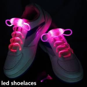 2 to 50 LED Shoelaces Light Up Flashing Glow Strap Luminous Shoe Laces Wholesale