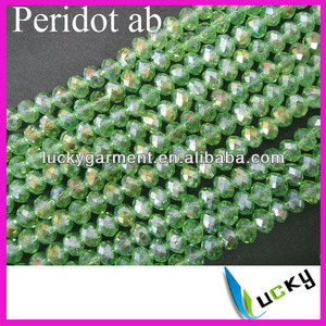 200 Crystal Quartz HOTSELL Faceted Rondelle Beads 5040 4mm