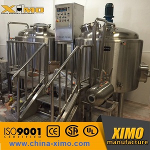 luxury red copper beer production equipment, luxury red