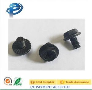 m10 flange bolt stainless steel screw, m10 flange bolt
