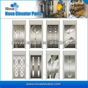 lift door hairline stainless steel, lift door hairline stainless