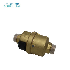 mechanical volumetric water flow meter, mechanical