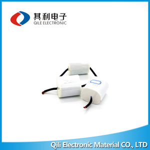 plastic capacitor for water pump, plastic capacitor for
