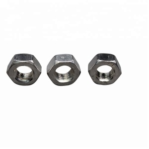 Hot sale 50 Pcs 304 Stainless Steel Hex Nuts Hexagon Nuts M1.6,M2,M2.5 /&T