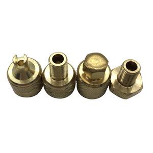 4 NEO CHROME LONG SPIKED VALVE STEM CAPS METAL THREAD KIT//SET FOR RIMS//WHEELS Q1