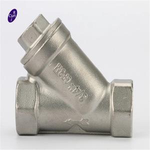 y stainless steel filter valve, y stainless steel filter