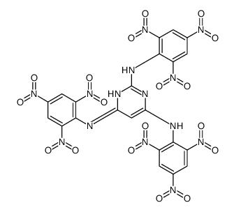 N,N',N''-Tris(2,4,6-trinitrophenyl)-2,4,6-pyrimidinetriamine