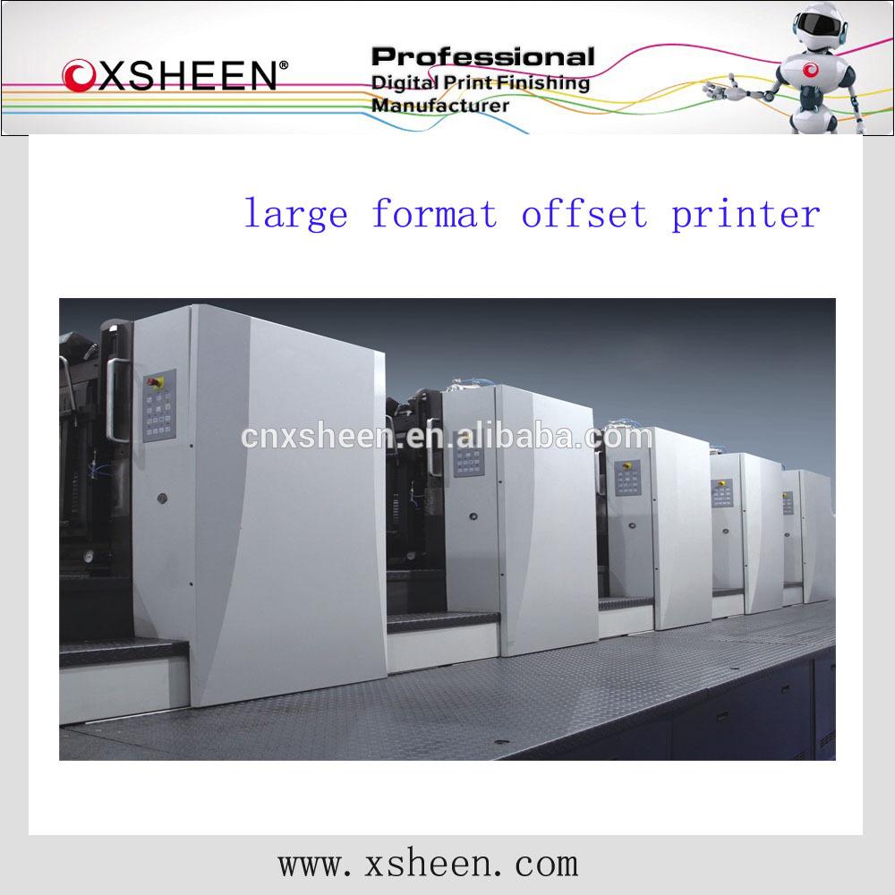 four color heidelberg offset printing machine, four color