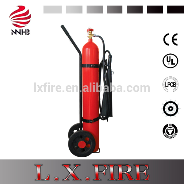 10-50kg Wheeled Refilling Station Equipment CO2 Fire  Trolly Extinguisher