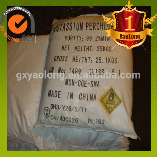 Industrial grade sodium nitrate granule potassium perchlorate