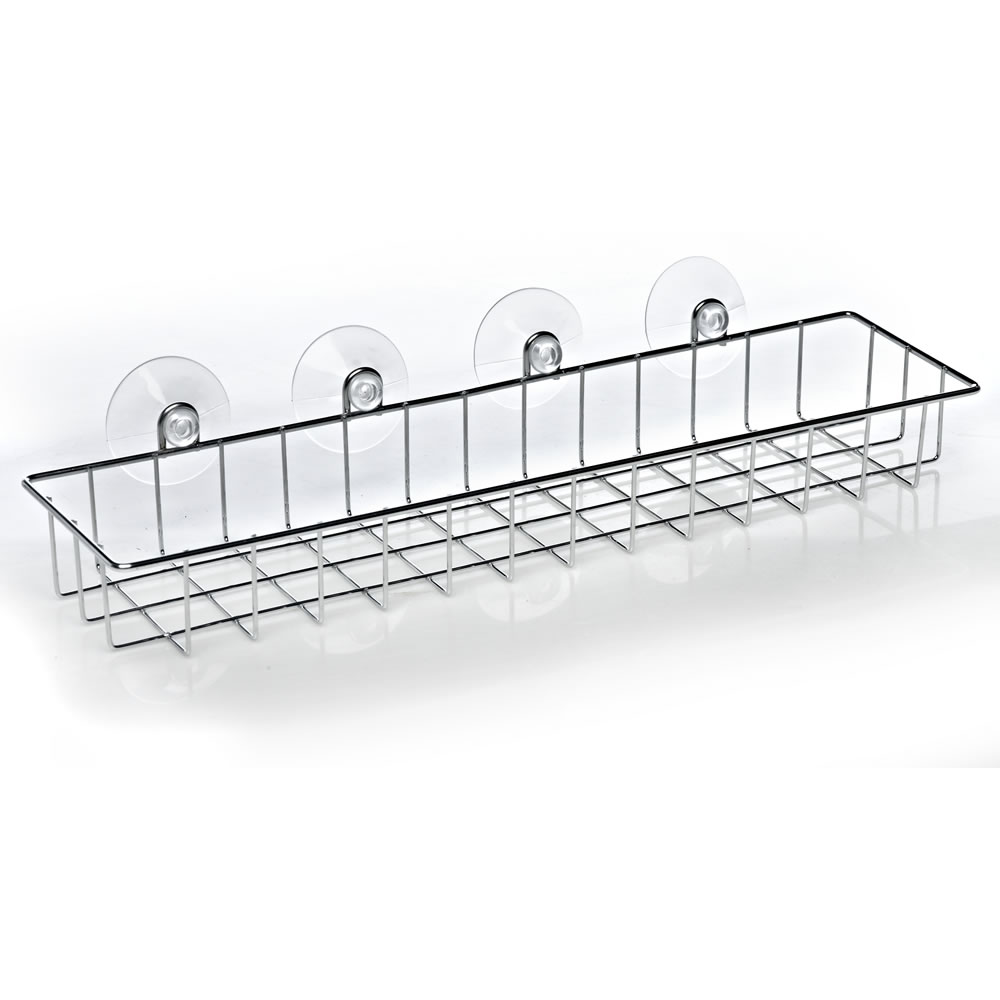 Stainless Steel Wire Bathroom Shelf