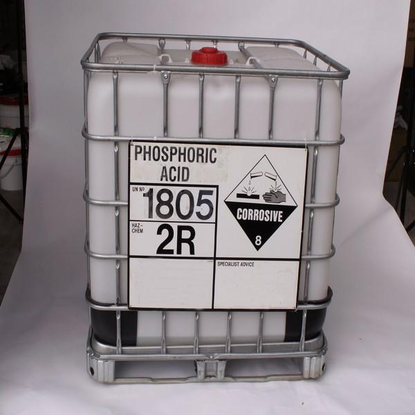 phosphoric acid ibc tank
