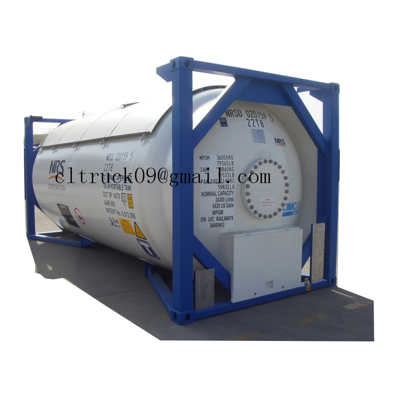 stainless steel iso tank container, stainless steel iso tank