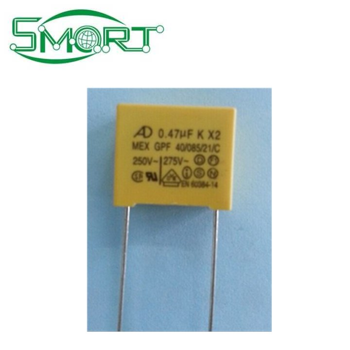Capacitor 1µf 220v ~ MKP start-up and interference suppression capacitor 72x28x15mm 25108