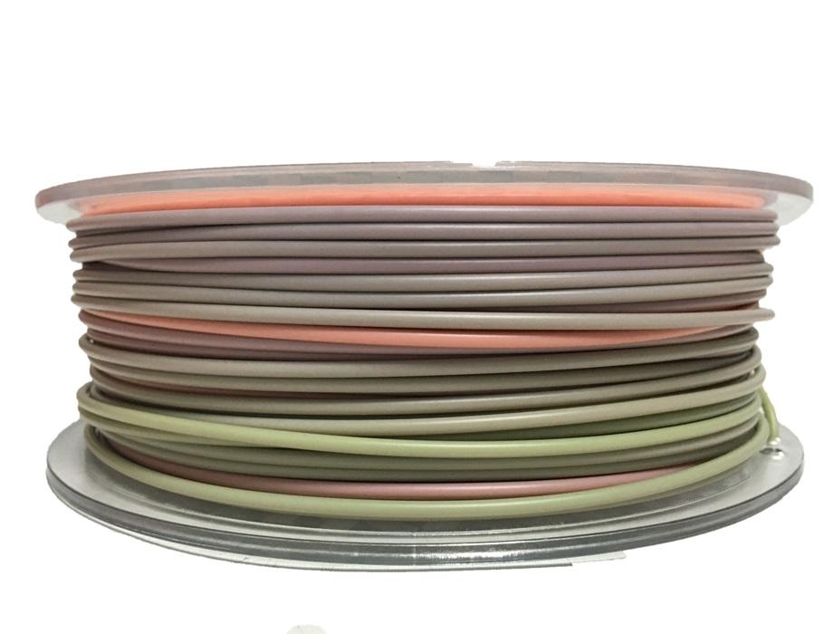 Rainbow filament 1.75 2.85mm PLA 3d printing material for FDM 3d printer