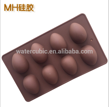 Ice Cube Silicone Molds 2 Pieces Silicone Chocolate Molds,Easter Egg Chocolate Mold Easter Candy Cookie Mould Silicone Baking Mold Easter Egg Mould Chick Chocolate Candy Mold for Party Jelly