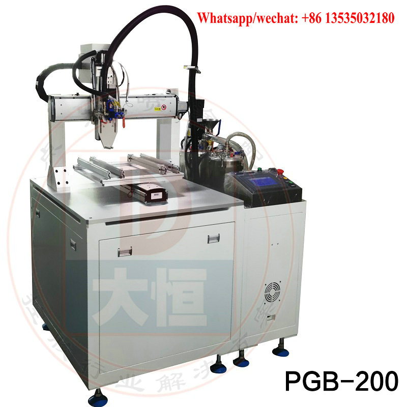 automatic epoxy resin AB glue filling machine