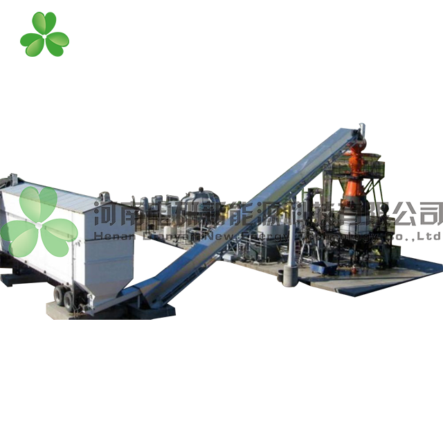 Syngas biomass gasifier