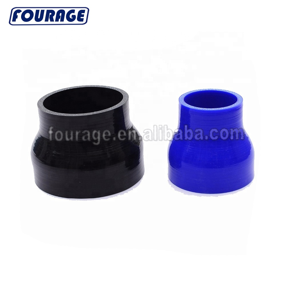 "SILICONE ELBOW COUPLER 3/"" BLACK 5 PLY 45 DEGREE HOSE INTAKE TURBO MBS"