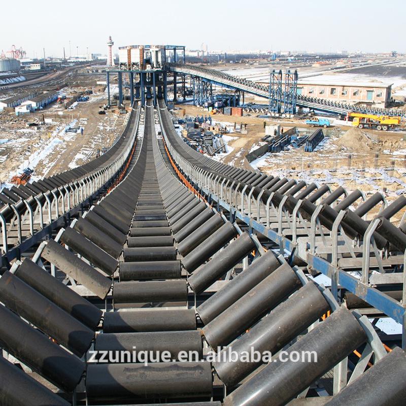 powered curve belt conveyor, powered curve belt conveyor