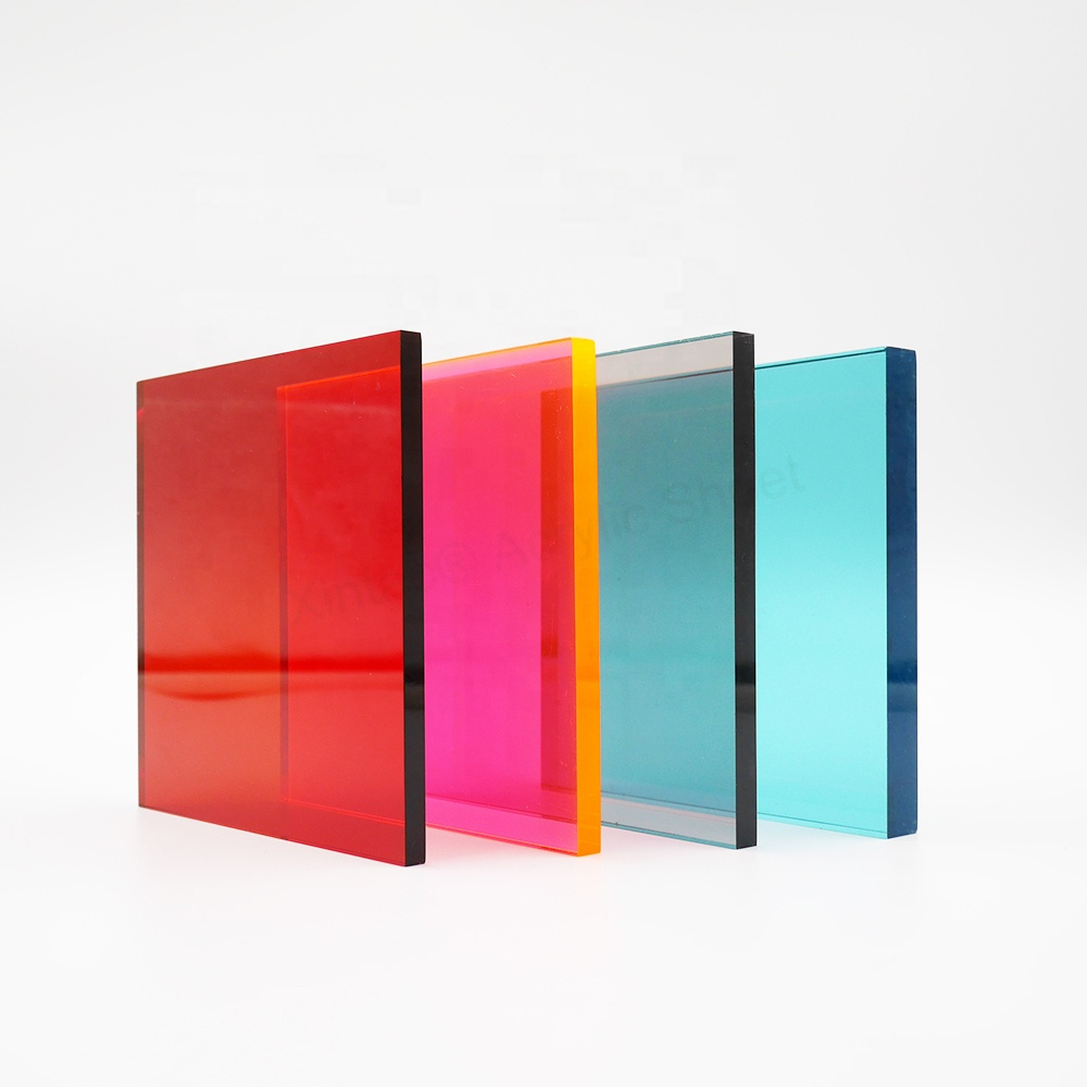 XINTAO Colored Translucent Cast Acrylic/PMMA/Perspex/Plexiglass Cut To Size Acrylic Sheet