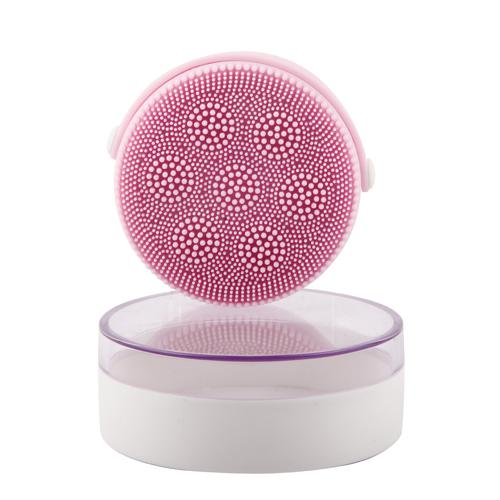 2019 Hit Ultrasonic silicone facial cleansing brush Facial Cleansing Brush Face Makeup Remove Cleanser