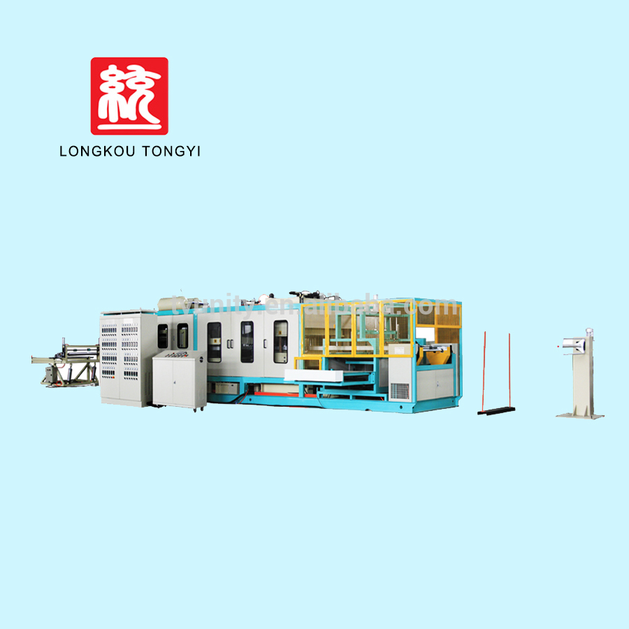 fully auto machine with disposable one time dish production line