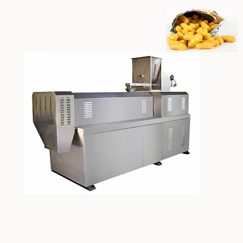 puffing food extruder machine, puffing food extruder machine