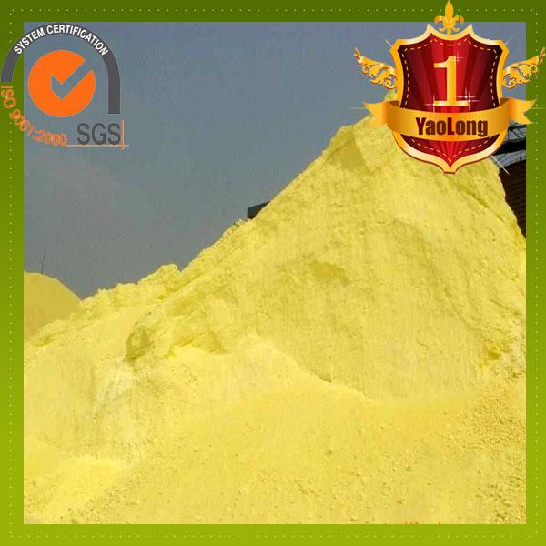 Agricultural sulphur powder