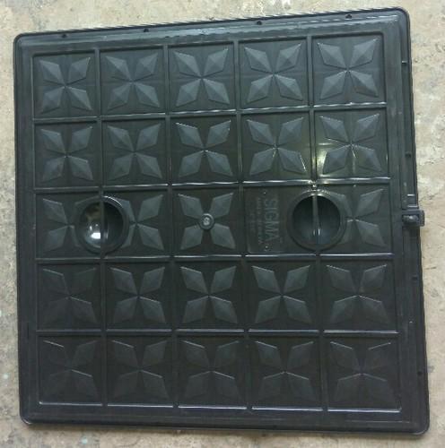 Grey PVC Manhole Cover