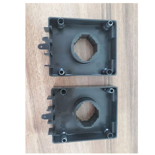 Black Plastic Injection Moulding Component