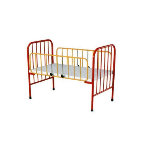 Stainless Steel Baby Bed, Length: 1350 mm