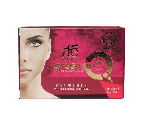 Ae Naturals Crystal Q Skin Whitening Soap For Women With Kojic Acid Glutathione