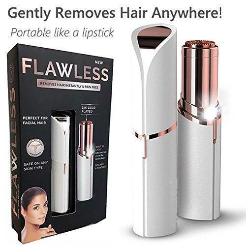 ININDIA Ultra-Mini Lipstick Painless Electronic Facial Hair Remover For Women