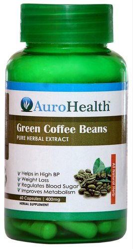 Green Coffee Beans Capsule