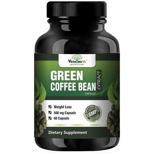 Veda Maxx Vedamax Green Coffee Beans Capsule, 60 Capsules