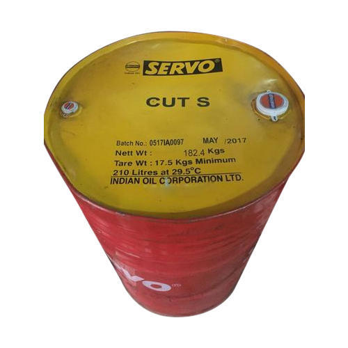 Servo Cut S Cutting Oil, Packaging Type: Drum and Barrel