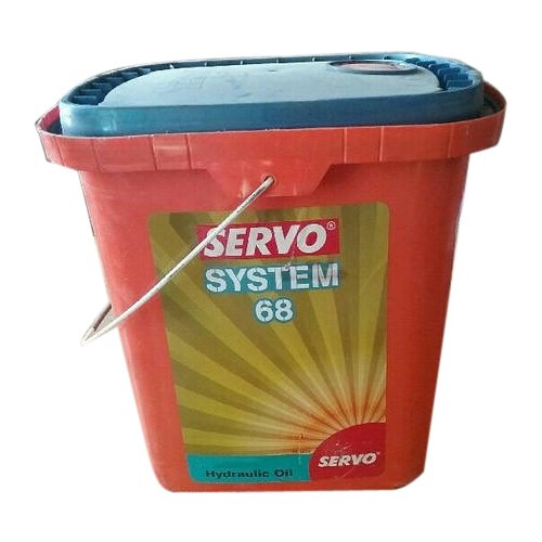 Servo Hydraulic System 68 Oil, Packaging Type: Plastic Bucket
