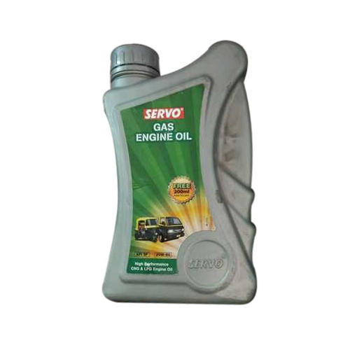 Servo gas engine oil, Packaging Type: Plastic Can