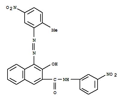 2-Naphthalenecarboxamide,3-hydroxy-4-[2-(2-methyl-5-nitrophenyl)diazenyl]-N-(3-nitrophenyl)-