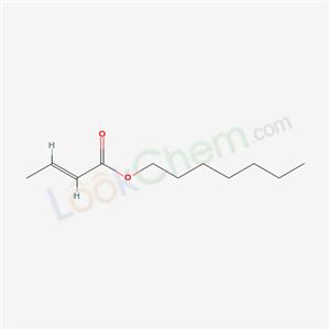 Heptyl crotonate