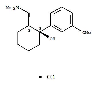 Cyclohexanol,2-[(dimethylamino)methyl]-1-(3-methoxyphenyl)-, hydrochloride (1:1), (1S,2S)-