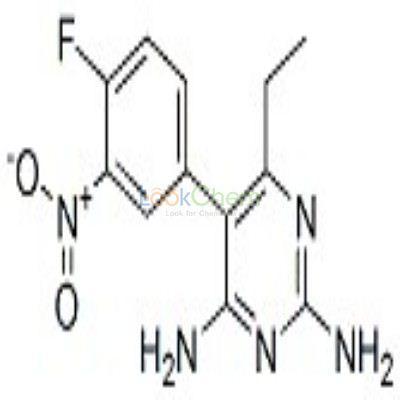113494-35-2 2,4-diamino-5-(4-fluoro-3-nitrophenyl)-6-ethylpyrimidine
