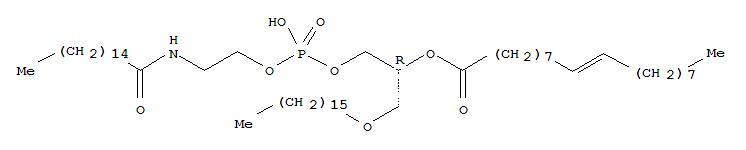 1-O-OCTADECYL-02-OLEOYL-SN-GLYCERO-3-PHOSPHO-(N-PALMITOYL)ETHANOLAMINE
